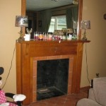 355 N Hickory Ln fireplace