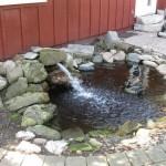 355 N Hickory Ln pond