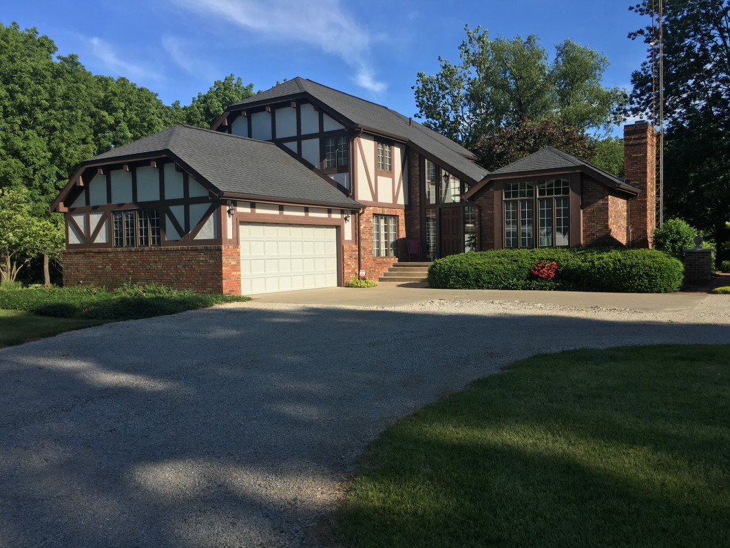 Absolutely stunning describes this 2 story English Tudor home on approx. 4+/- Acres. & Absolutely stunning describes this 2 story English Tudor home on ...
